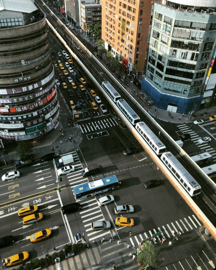 Kruispunt in Taipei