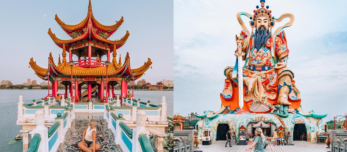 Op uitstap: naar de Lotus Pond inKaohsiung